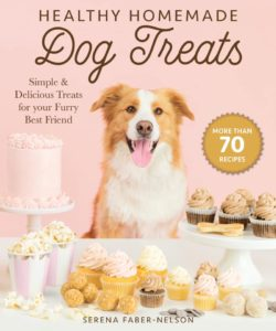 book cover for health home made treats by serena faber nelson